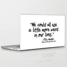 Fan-favorite Fitz Quote Laptop & iPad Skin