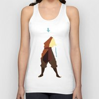 aang Tank Tops featuring Aang by JHTY