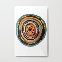 Portal III Collage Metal Print