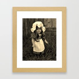 In the Irish Rain Framed Art Print