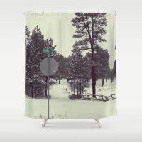 colorado Shower Curtains featuring Colorado. by Cynthia del Rio