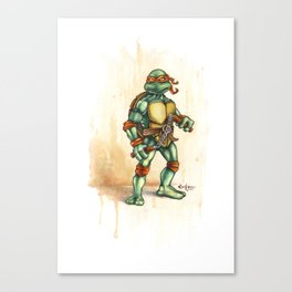 Serious Mikey Canvas Print