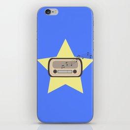 Retro Radio   iPhone Skin