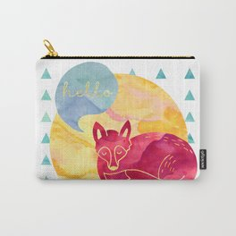Hello foxy Carry-All Pouch