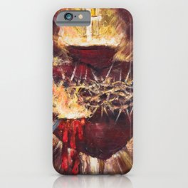 Cor Jesu Sacratissimum VIII (Sacred Heart of Jesus) iPhone Case