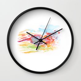 Galoping kitty Wall Clock