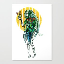 April - Showers Canvas Print