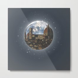 A Night In Florence Metal Print