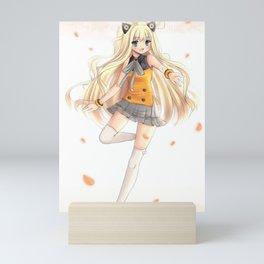 Vocaloid SeeU Mini Art Print