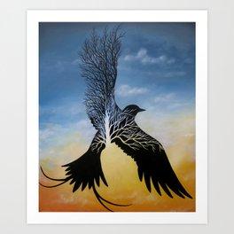 Avian Boughs Art Print