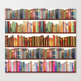 Jane Austen Vintage Book collection Canvas Print