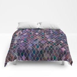 Mermaid Dark Purple Comforters