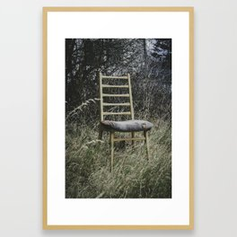 Rimpianti I Framed Art Print