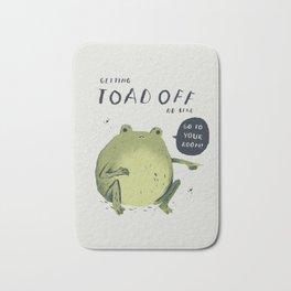 Toad off Bath Mat