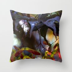 Japanese Maple Seeds III Throw Pillow