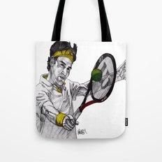 Tennis Federer Tote Bag