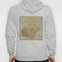Vintage Map of Guatemala (1902) Hoody