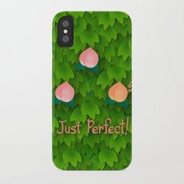 Fruit Harvest - Peach iPhone Case