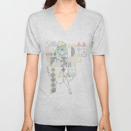 Mary Blair Unisex V-Neck
