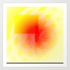 Orange #53 Art Print