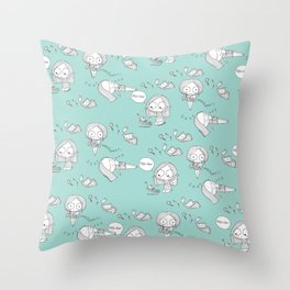 """So this is Love..."" Throw Pillow"