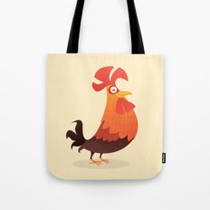 It's Time, Rooster! Tote Bag