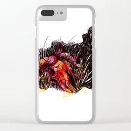 Wildebeest Clear iPhone Case
