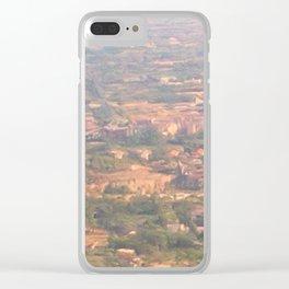 Italian landscape Clear iPhone Case