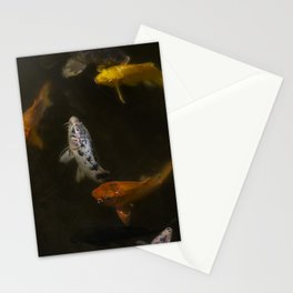 Koi Circle Stationery Cards