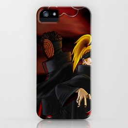 tobi  and deidara iPhone Case