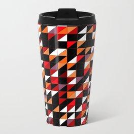 Sumi Retro Quilt Metal Travel Mug