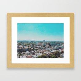 Wilshire & La Brea Framed Art Print