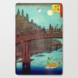 Beautiful Evening Across The Bridge Cutting Board