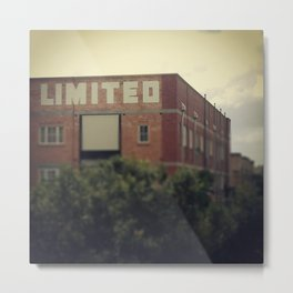 Limited Metal Print