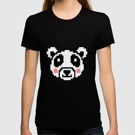 Video Game Panda 16 Bit Retro Vintage Graphic Gaming Animal Kids Gift Idea T-shirt
