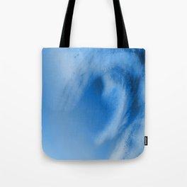 Blue Whirl I Tote Bag