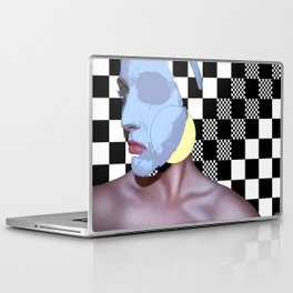 Masked Beauty  Laptop & iPad Skin