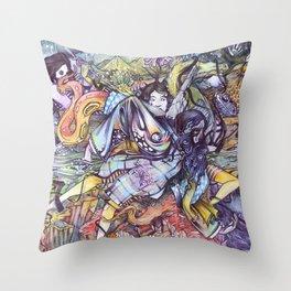 L.O.V.E. Throw Pillow