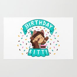 Birthday Kitty (2018) Rug