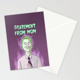 Statement From Mom Stationery Cards