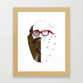 barbudo Framed Art Print