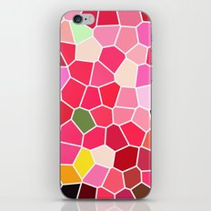 Pattern 5 - pink explosion iPhone & iPod Skin
