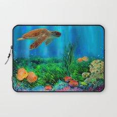 UnderSea with Turtle Laptop Sleeve