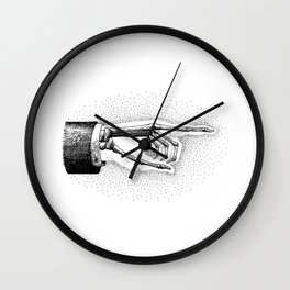 he went that-a way Wall Clock