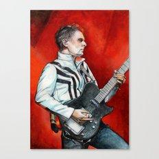 Matt Bellamy Canvas Print