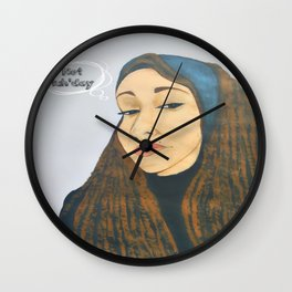 Not tuh'day Wall Clock
