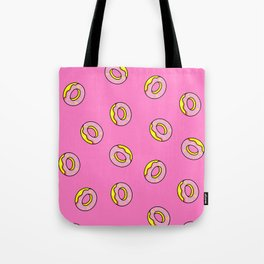 Donuts Pink Tote Bag