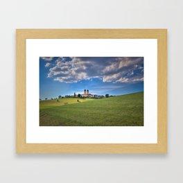 Kloster St. Morgen im Schwarzwald Framed Art Print