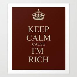 Rich Art Print