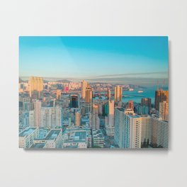 Kowloon Metal Print